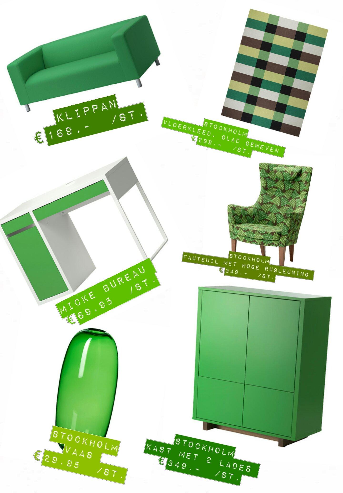 Ikea Keuken Groen : Ikea Keuken Antraciet : Een groen interieur werkt rustgevend! Groen is